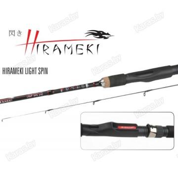 Спиннинг Mikado Hirameki Light Spin 210, углеволокно, штекерный, 2.1м, тест: 5-15г, 117г